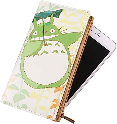 Double Villages My Neighbor Totoro schouder canvas tassen leuke mobiele telefoon portemonnee tas met schouderriem portemonnee portemonnee
