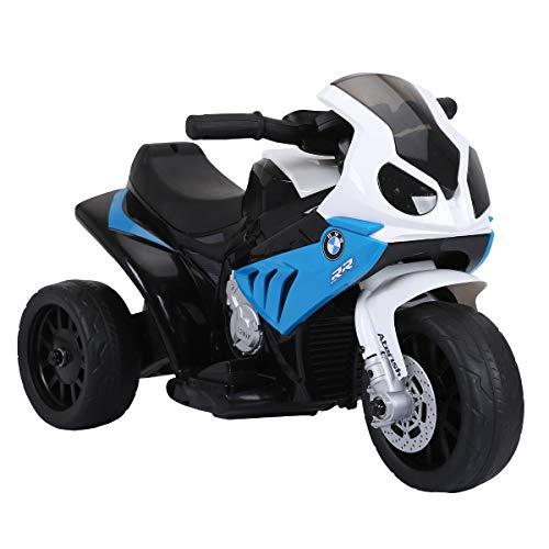 BSD Elektromotorrad für Kinder Elektrisch Ride On Kinderfahrzeug Elektroauto Motorrad - BMW S1000RR - Blau