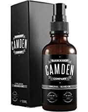 Skäggolja från Camden Barbershop Company ● ORIGINAL ● helt naturlig skäggvård ● frisk doft