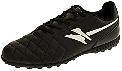 Activo5 In-Line Collection from Gola Classic Design Astroturf Football Trainers Quilted Effect Synthetic Leather Upper Secure Lace Up Fastening Durable Non Marking Sole