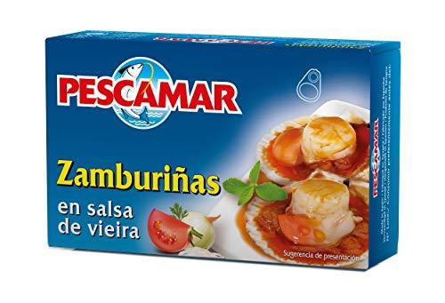 Pescamar Zamburiñas En Salsa De Vieira En Lata 111 g (6410130001)
