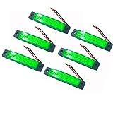 Deals4you 6-Pack Pontoon Boat Lights,12V LED Stern Lights for Boats, Dinghy and Touring Kayaks,...