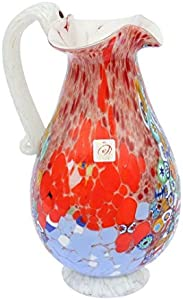 Jarra Primavera - Vidrio soplado - Cristal de Murano