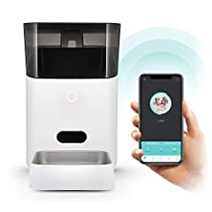 SMARTPHONE CONTROLLED: Control your pet's daily feeding times anytime, anywhere – using your iOS or Android smartphone. Requires a wireless router 2.4GHz (802.11b/g/n) PERSONALIZED MEAL PORTIONS: Use the Petnet App to tell us about your pets breed, a...