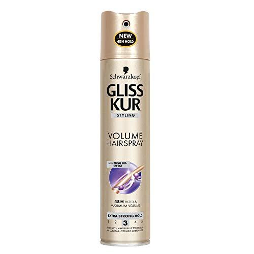 Schwarzkopf Gliss Kur Hairspray Hold Plus Extra Volume' x2