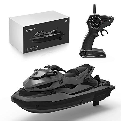vap26 Science Kit für Kinderboot, elektrisches RC-Boot 2,4 GHz, tragbares Mini-Wasserspiel-RC-Boot, Upgrade des drahtlosen elektrischen Motorboots Erwachsene Kinder Jungen Mädchen