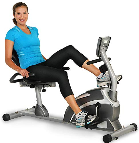 900XL Recumbent Exercise Bike with Pulse 300 lbs. Weight Capacity