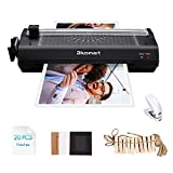 5 in 1 Blusmart Laminator Set, A4, Trimmer, Corner Rounder, 20 Laminating Pouches, Photo...