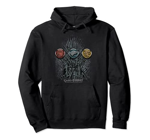 Game of Thrones For the Throne Sigils Pullover Hoodie