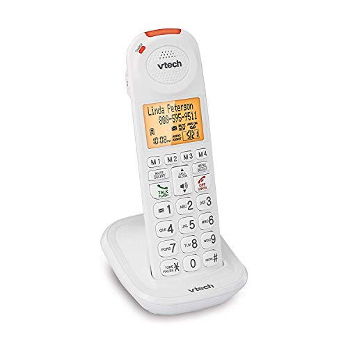 VTech SN5107 Amplified Accessory Handset with Big Buttons & Large Display for SN5127 & SN5147 Senior Phone Systems, Multi