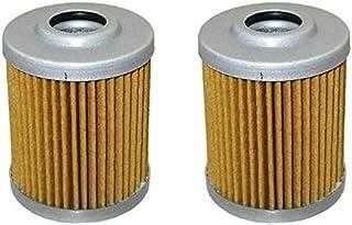 Domilay Filtro de Combustible de 2 Piezas para 16901-ZY3-003 BF 115 130 135 150 175 200 225 Fueraborda