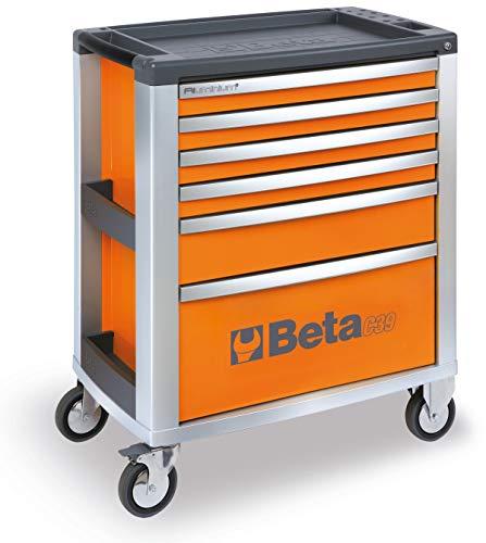 BETA 39000031 CASSETTIERE 6 CASSETTI VUOTE Orange O/6, Arancione, C39-6/O