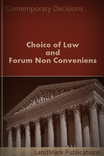 Choice of Law and Forum Non Conveniens (Litigator Series) (English Edition)
