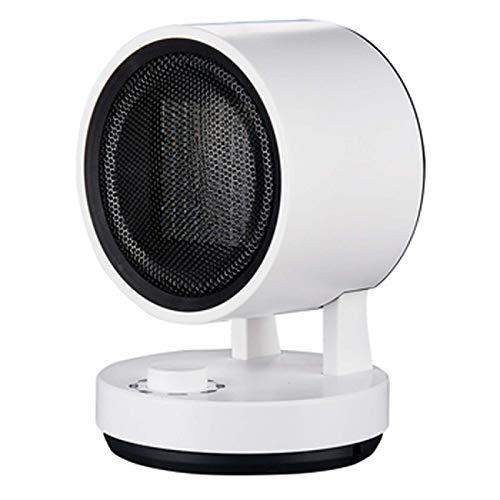 FOLVXY Calentador De Espacio, Oscilación Automática, Protección De Inclinación, Ajuste De Múltiples Ángulos, Ajuste De Temperatura De Tres Velocidades De 1500 W, Adecuado para Dormitorio, Oficina