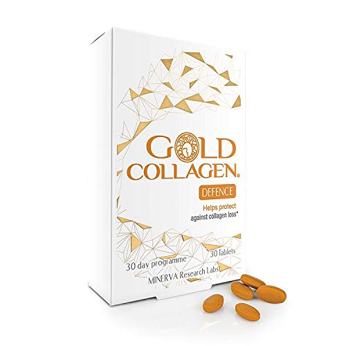 Gold Collagen Defence 800mg, 30 capsulas, 25 g