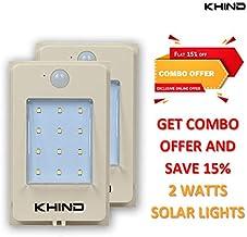 Combo Led Solar Light 2 Watts - 2 pcs included