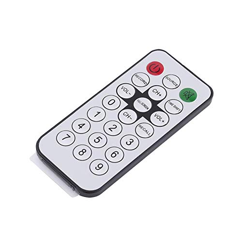 DVB-T Receiver Portable Universal Durable TV TV Tuner Stick with Remote Control