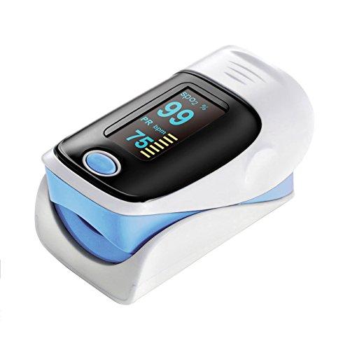 Tera Ossimetro di impulso Saturimetro e Cardiofrequenzimetro per...