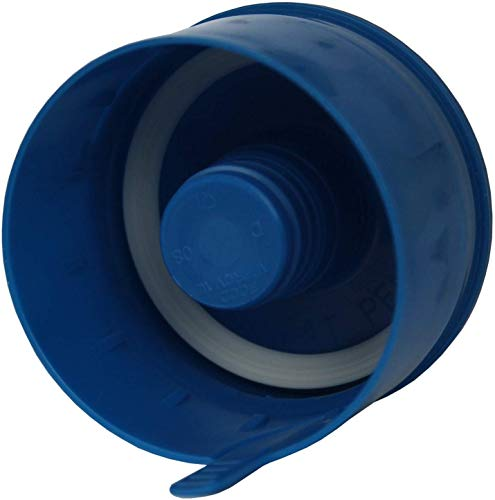 filterportal 15 x Verschlusskappen Kappen Caps für 3-5 Gallon 11-18,9 Liter Wasserspender Flaschen Gallone Non-Spill