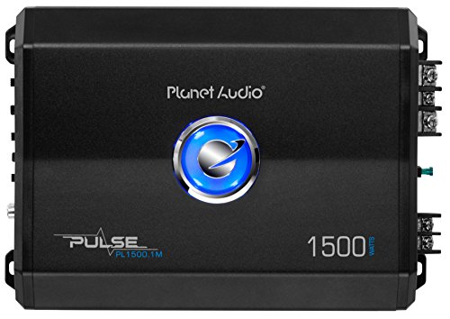 BOSS Audio Systems PLANET AUDIO PL1500.1M Pulse Series Monoblock Class Ab AMP...