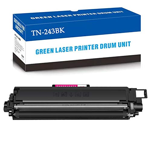 CUXU Adecuado para el reemplazo del Hermano TN-243, Cartucho de tóner TN-247, para HL-L3210CW / L3230CDW / L3270CDW / L3290CDW, MFC-L3710CW / L3750CDW / L3770CDW Printers Black