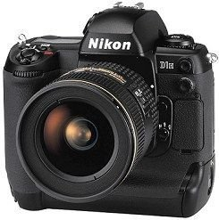 Nikon D1H Kit Digitale Spiegelreflexkamera (2,7 Megapixel)