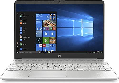 """HP - PC 15s-fq1014nl Notebook, Intel Core i5-1035G1, RAM 8 GB, SSD 512 GB, Grafica Intel UHD, Windows 10 S, Schermo 15.6"""" FHD Antiriflesso, Lettore Impronte Digitali, USB-C, Lettore Micro SD, Argento"""