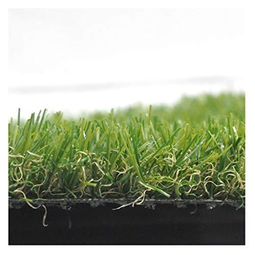 TLMYDD Estera De Césped Artificial, Césped De Plástico Hierba Verde Turf Sintético Micro Paisaje Ornamento Decoración del Hogar (3.3ft * 3.3ft) Césped Artificial