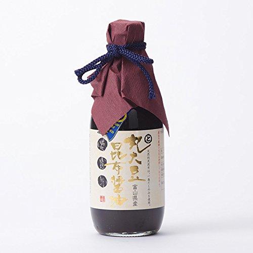 トナミ醤油 富山県 丸大豆昆布醤油