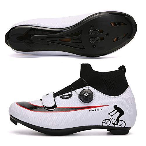 Big Horse Zapatillas de Ciclismo Antideslizantes, Zapatillas de Bicicleta de montaña y...