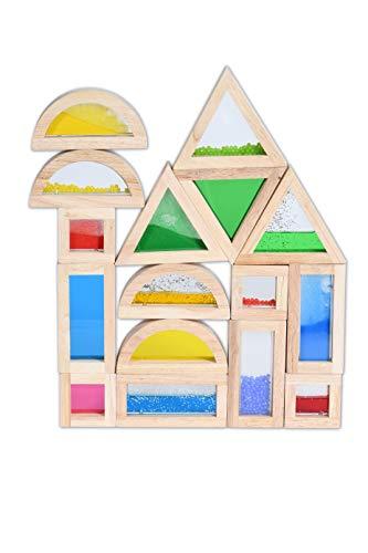 TickiT 73281 Conjunto de bloques sensoriales, 16 piezas