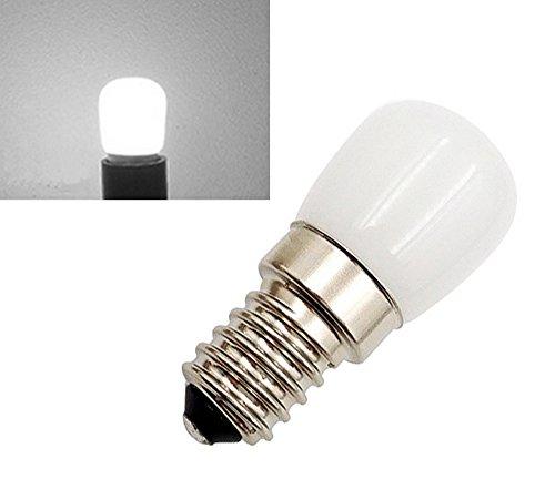2-Packs 1.5W SES-LED-Lampe Cool White 6000K 220-240 Volt 15 Watt Equivalent Kleine Edison Screw E14 LED Pygmy Birne für Kühlschrank/Mikrowelle/Dunstabzug/Nähmaschine