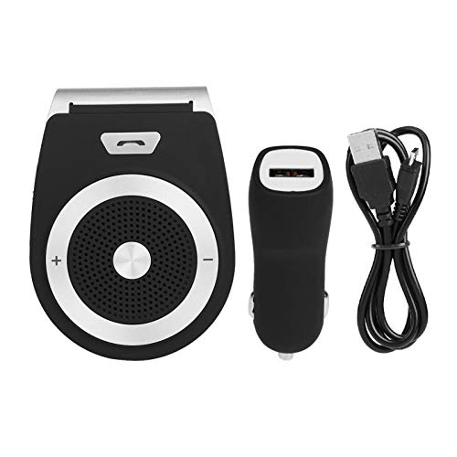Joyfulstore- Car Hands Free Wireless Bluetooth Music Speaker Phone Talking Bluetooth 4.0+Edr In-Car Sun Visor Hands Free Speakerphone