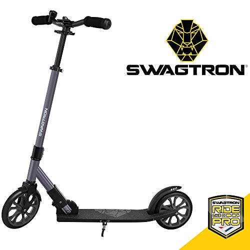 Swagtron K8 Titan Commuter Kick Scooter for Adults, Teens | Foldable, Lightweight w/ABEC-9 Wheel...