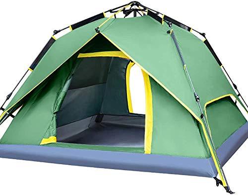 Pop Up Zelt 3-4 Personen Camping Zelte Instant Large Family Cabana Anti UV Sonnenschutz wasserdicht
