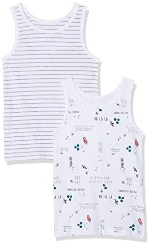 NAME IT NAME IT Baby-Mädchen NMFTANK TOP 2P NOOS Unterhemd, Mehrfarbig (Bubblegum), 104 (2er Pack)