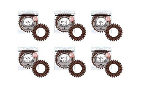invisibobble - Pressa Power Brown, 18 pezzi