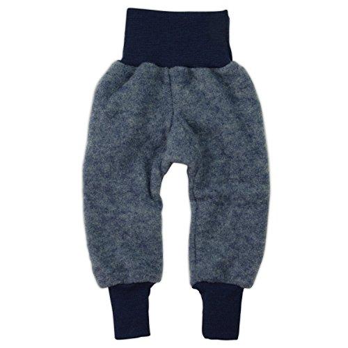 Cosilana Hose Woll-Fleece, Größe 50/56, Farbe Marine Melange - Vertrieb nur durch Wollbody®