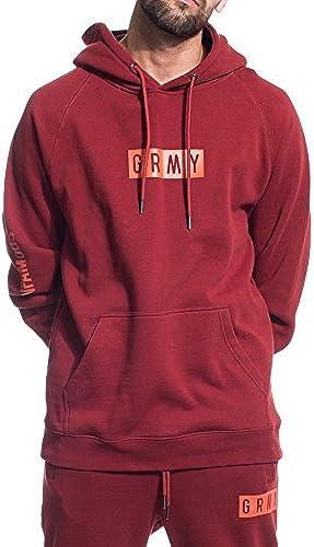 Grimey - Sweat-Shirt - Manches Longues - Homme Bordeaux