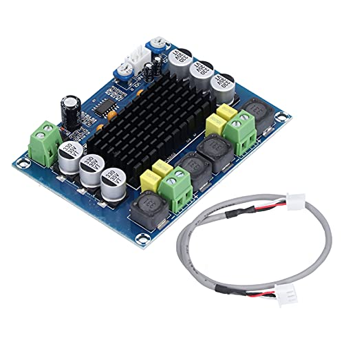 Amplificador De Potencia De Audio Digital, DC12V A 24V DC 12V A 24V Placa De Amplificador Alta Eficiencia Para Computadora De Automóvil Altavoz Para De Sonido