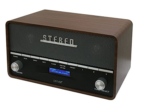 Denver DAB-36 DAB+ Digitale retro-radio met Bluetooth-functie