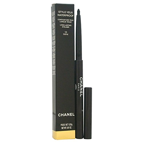 Chanel Stylo Yeux Waterproof Unisex, No. 10 Ebéne, Eyeliner, 1er Pack (1 x 10 ml)