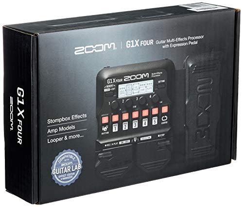 Zoom - G1X FOUR/IFS - pedaliera multieffetto, amp-simulator per chitarra con pedale d'espressione