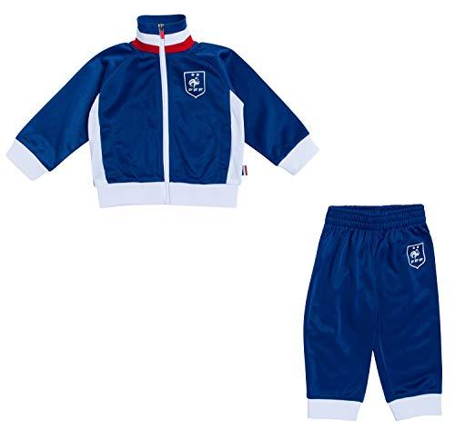 Equipe de France voetbal trainingspak baby FFF – 2 sterren – officiële collectie