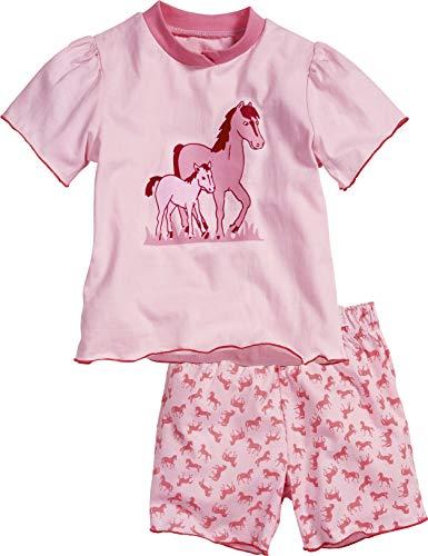 Playshoes meisjes Shorty single jersey paarden tweedelige pyjama