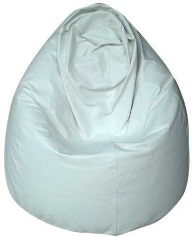 KAWIN Shopping on line Pouf Poltrona Pera Puff puf Sacco Ecopelle - Bianco