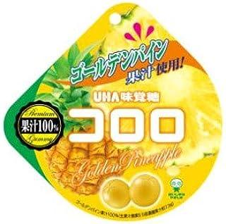 コロロ ゴールデンパイン 40g×6袋入り1BOX UHA味覚糖