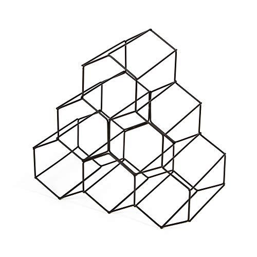 Compactor, Range-Bouteilles, Métal, Bronze Mat Dimensions:28 x 28 x H.14, 5 cm, RAN8663