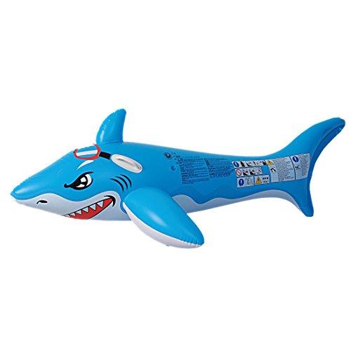 Jilong Shark Rider - Schwimm-Hai mit Haltegriffen 180x98 cm