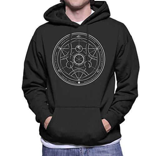 Valyrian Fire Alchemy White Game of Thrones Men's Hooded Sweatshirt